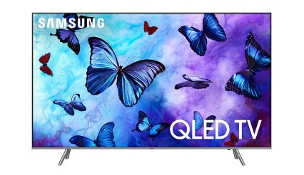 "Samsung QN65Q6 Flat 65"" QLED 4K UHD 6 Series Smart TV 2018"